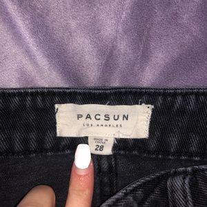 PacSun Skirts - Black Denim Pacsun Skirt